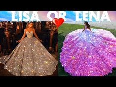 LISA OR LENA 💖 #193 - YouTube Youtube Slime, Lisa Or Lena, Blue Berry Muffins, 5 Minute Crafts, Blueberry, Ball Gowns, Smooth, Keto, Formal Dresses