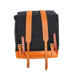 Image of Southern Field Industries •Waxed Rucksack Navy