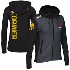 Daniel Cormier UFC Reebok Women's Champion Walkout Hoodie - Black - $119.99