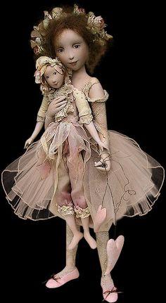 art dolls by Yvonne Flipse