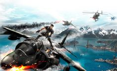 just cause 2  - Full HD Background