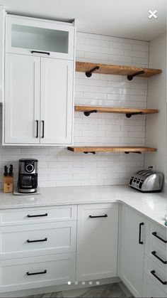 Shelves in kitchen rustic industrial wood pipe shelf industrial pipe shelving pipe shelves pipe shelving fl floating shelves kitchen ideas Kitchen Redo, New Kitchen, Kitchen Rustic, Kitchen Industrial, Kitchen Black, Kitchen Corner, Open Cabinet Kitchen, Kitchen Layout, Hidden Kitchen