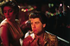 Annette (Donna Pescow) and Tony (John Travolta), Saturday Night Fever, 1977 Saturday Night Fever, John Travolta, Pulp Fiction, Karen Lynn Gorney, Dance Movies, 80s Movies, Young John, Film Inspiration, Fashion Inspiration