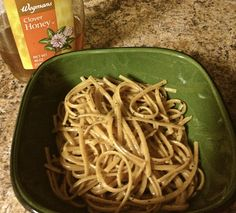 Honey Garlic Pasta
