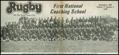 Down Memory Lane - First National Coaching School - 1985 | Rugby Today