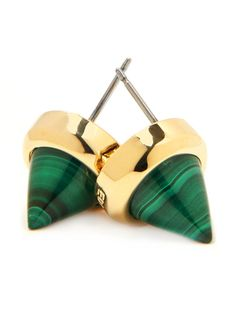 From Hostess with the Most Dress: What to Wear at Your Own Summer Party Eddie Borgo gemstone stud earrings, $165