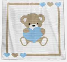 CROCHET Pattern Baby Blanket Pattern Sweet par PatternWorldUK