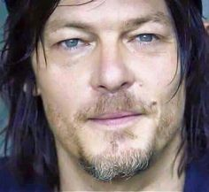 Norman Reedus!! Gosh, his eyes. HIS EYES!