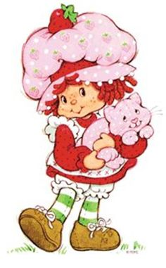 Strawberry Shortcake, my all time favorite!!!