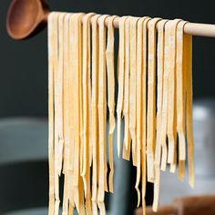 Grundrezept Safran-Bandnudeln Rezept | Küchengötter