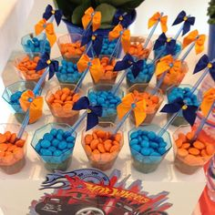 55 Birthday Party Snacks, Nerf Party, Race Car Party, 10th Birthday Parties, Birthday Celebration, Birthday Themes For Boys, 1st Boy Birthday, Birthday Diy, Hot Wheels Birthday