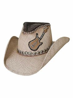 Bullhide Hats Western Straw Platinum Collection Country Rocks Womens Natural, $75.00 #cowboyhats #cowgirlstyle
