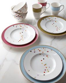 Kate Spade dinnerware - I saw this at Home Goods today and wish I could have bought 8 place settings