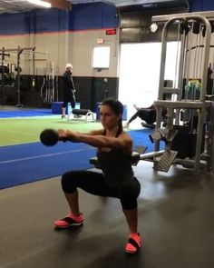 """76 Likes, 7 Comments - @kettlebells_for_women on Instagram: """"Kettlebell workout from @alexia_clark - Kettlebell Bang 1. 15 each side 2. 10 reps each 3. 15…"""""""