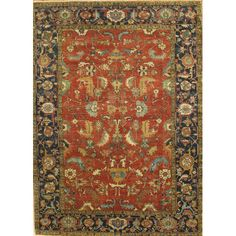 Found it at Wayfair - Serapi Heriz Hand-Knotted Wool Traditional Area Rug