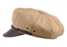 Homme Femme 100/% Authentique Peau De Mouton En Cuir Vintage Newsboy Cap Casual Chapeau Cadeau