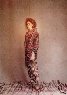 From British Vogue- 1981StylistGrace Coddington, photographerBarry Lategan