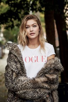 Gigi Hadid is a 21st-century girl - a model not afraid to show her personality or stand up to her critics - not forgetting her famous friends and 15 million Instagram followers. For the January issue of Vogue, the cover star told Allison Davis what it's all about