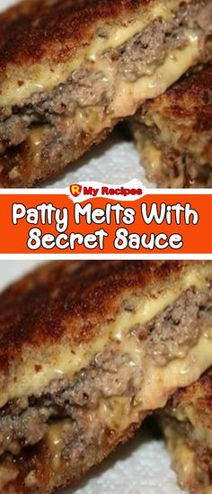 PATTY MELTS WITH SECRET SAUCE – My Recipes