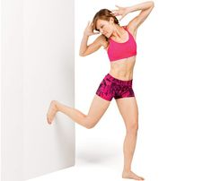 Tone Your Whole Bod With a Wall: Workouts: Self.com : Welcome to the wall workout: No-equipment moves that require only a wall. Tone your abs, butt, thighs, arms and more. #SELFmagazine