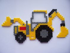 Midi Beads - Hama Construction Vehicles Box Set No.3106