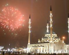 the city of Grozny, Chechnya, Russia, 2012