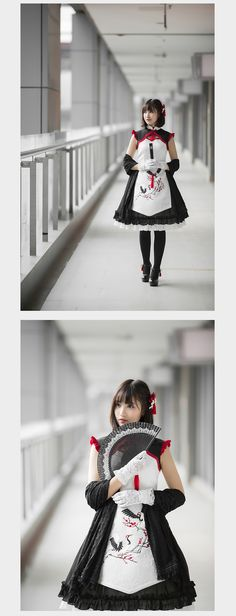 Qi Lolita dress (2015) from Taobao indiebrand
