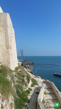 #Trabucco Punta San Francesco  #Vieste #Gargano #Puglia #Italy #Italia #79thAvenue #EIlViaggioContinua #AlwaysOnTheRoad