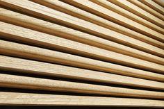 Provocative Timber Batten Sequences | Woodform