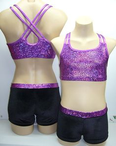 Size 8, 10, 12, 14, 16 - LEOTARD/GYMNASTIC/DANCE - Crop Top Pants Set - BNWT | eBay