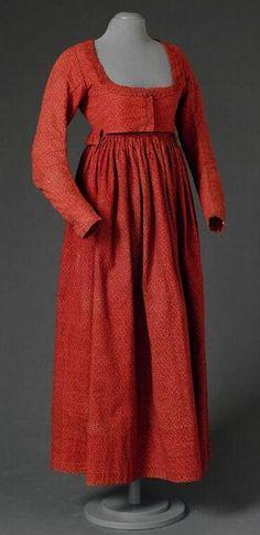 Dress 1800-1820 OPEN FASHION ID 7281 AF230 DATES 1800-1820 SOURCE MOMU (Mode Museum Antwerp)