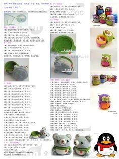 堆糖-美好生活研究所 Crochet Dolls, Crochet Baby, Free Crochet, Knit Crochet, Amigurumi Toys, Amigurumi Patterns, Crochet Patterns, Diy Doll, Crochet Animals