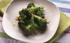 Thai-style broccoli with garlic