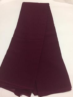 Pure silk georgette fabric