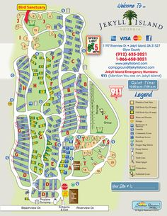 Hunting Island Sc Campground Map South Carolina State