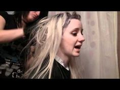 Tutorial: How to Dye Hair Blonde Without Bleach - YouTube