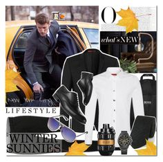 """Men's Winter Sunnies"" by elena-starling ❤ liked on Polyvore featuring Vanity Fair, Ethan Allen, HUGO, Viktor & Rolf, Fat Face, menswear, men, fallwinter2015 and wintersunnies"