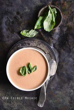 Low-Carb Cheesy Tomato Basil Chowder Recipe