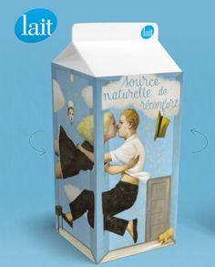 la famille du lait