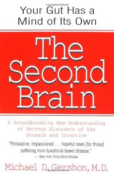 The Second Brain: A Groundbreaking New Understanding of Nervous Disorders of the Stomach and Intestine by Michael Gershon http://www.amazon.com/dp/0060930721/ref=cm_sw_r_pi_dp_dj67ub120JN3Q