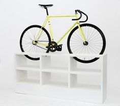 8 | This Furniture Doubles As Beautiful Bike Storage For Tiny Apartments | Co.Exist | ideas + impact