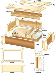 diy wood planter box plans - How To Make Wooden Planter Boxes Waterproof? Woodworking Plans Pdf, Woodworking Furniture Plans, Easy Wood Projects, Woodworking Projects That Sell, Woodworking Shop, Woodworking Crafts, Woodworking Equipment, Woodworking Videos, Woodworking Blueprints