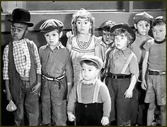 The Little Rascals- Spanky was so adorable when he was a tot
