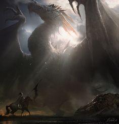 Mystic Dragon by daRoz