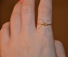 make it & fake it: DIY Bow Ring