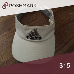 Adidas visor White adidas visor fits all woman and mens! Adidas Other