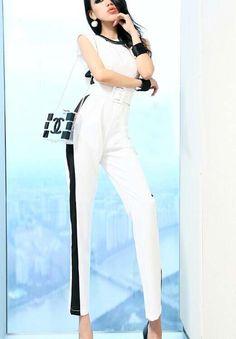 Morpheus Boutique  - Hot Pink V Neck Sleeveless Belted Celebrity Jumpsuit , CA$92.29 (http://www.morpheusboutique.com/new-arrivals/hot-pink-v-neck-sleeveless-belted-celebrity-jumpsuit/)