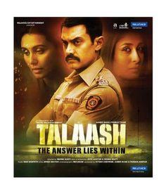 Love It Talaash 2012 Hindi Movie Bollywood Film Indian Cinema