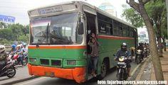 Bus PO Mayasari Bakti 2013