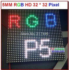p5 led module,5mm full color rgb hd pixel hub 75 1/16 scan 160*160mm 32*32 pixel smd 3 in 1, p5 led tile rgb display led board